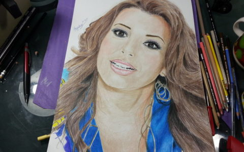 Drawing Eva Longoria