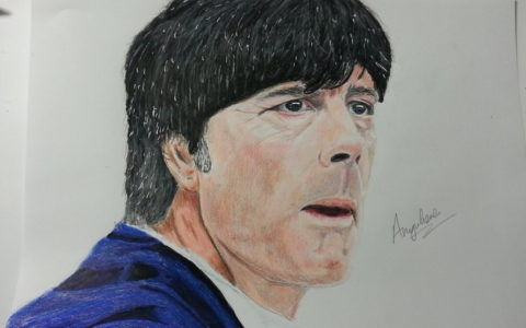 Drawing Jogi Loew